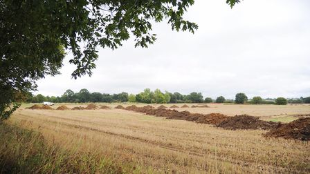 Work has begun on the Northern Fringe Development on Henley Road. Picture: SARAH LUCY BROWN
