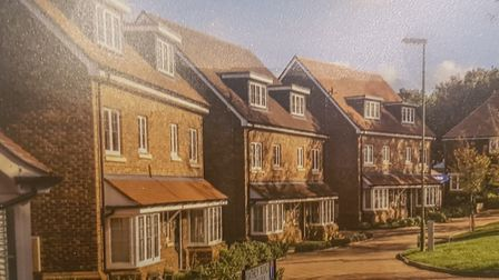 Plans for Henley Gate development were revealed to resedents at a meeting. Picture: ARCHANT