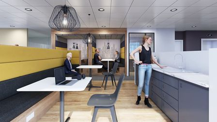 An artist's impression of Regus offices Picture: REGUS
