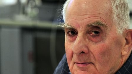 Holocaust survivor Frank Bright, pictured in 2012. Picture: LUCY TAYLOR/ARCHANT ARCHIVE