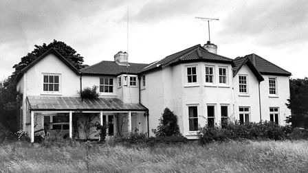 Beach House, Undercliff Road East, Felixstowe, where Wallis Simpson stayed in 1936 Picture: ARCHA
