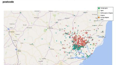 Northern route consultation data. Picture: WSP