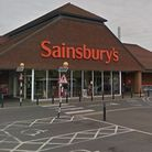 The theft happened at Hadleigh Road Sainsbury's in Ipswich Picture: GOOGLE MAPS