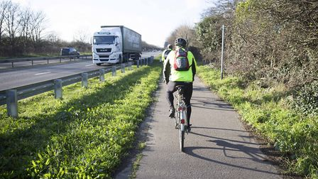 Could there be more cycle routes created from the government cash? Photo: Highways England.