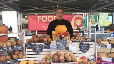 Food! By Lizzi based in Bury St Edmunds were selling vegan sausage rolls long before Greggs Picture: