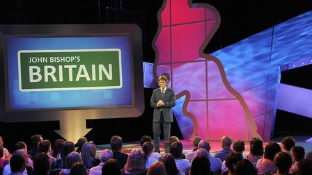 John Bishop is bringing his new stand-up show to the Ipswich Regent Photo: BBC