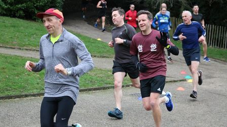 It was a mild, dry day for Ipswich parkrun this week Picture: MARK KEMPTON