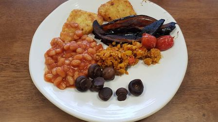 A tempting vegan breakfast Picture: PLANT CAFE IPSWICH