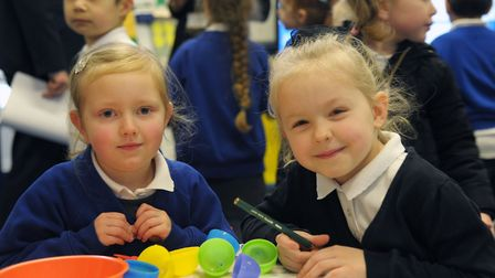 Emelia and Lumen at Murrayfield Primary Academy, which has been recognised by the Ofsted chief inspe