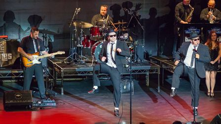 Chicago Blues Brothers are coming to the Felixstowe Spa Pavilion. PICTURE: Paul Nichols