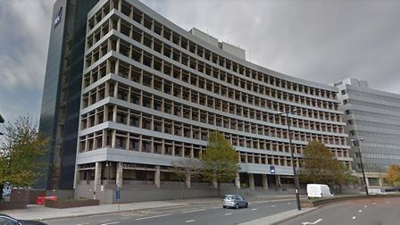 Brooke Lawrance House in Civic Drive, Ipswich, which will eventually become an HMRC specialist site