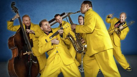 The Jive Aces who are playing at the Ipswich Jazz Festival in June Photo: Ipswich Jazz Festival