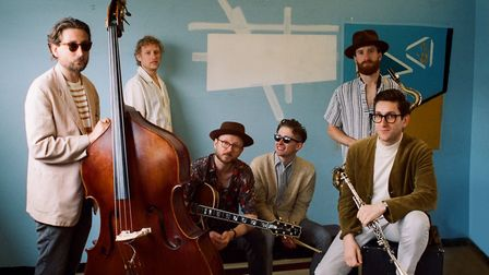 Kansas Smitty�s House Band which are performing at the expanded Ipswich Jazz Festival in June Photo
