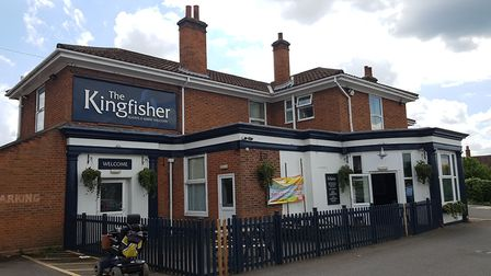 The Kingfisher Pub in Chantry is throwing a party for Brexit. Picture: RACHEL EDGE