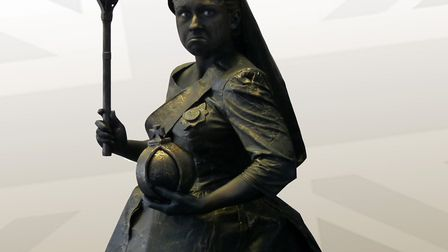 Queen Victoria is one of the living statues coming to Ipswich Cornhill Picture: WARBLE ENTERTAINMENT