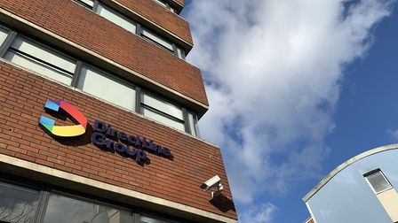 The Direct Line office in Ipswich will shut in 2022, taking with it 300 jobs. Picture: ARCHANT