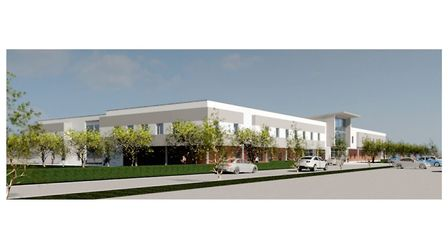 An artist's impression of what the new orthopaedic centre will look like in Colchester. Picture: ESN