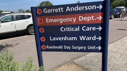 Investment in a new A&E and urgent treatment centre are on the cards for Ipswich Hospital. Picture: