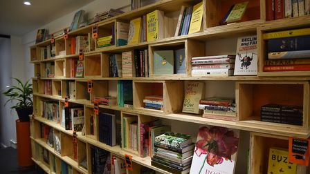 A new independent book shop has opened in Ipswich, Dial Lane Books Picture: CHARLOTTE BOND