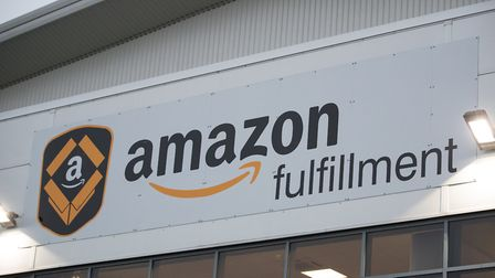 Amazon is building a delivery centre on the edge of Ipswich. Picture: PA/AARON CHOWN