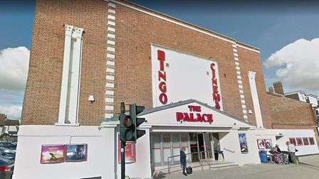 Customers visiting the Palace Cinema in Felixstowe are having their temperatures checked due to cor