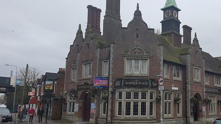 The Suffolk Punch pub in Norwich Road, Ipswich, is currently closed Picture: PAUL GEATER