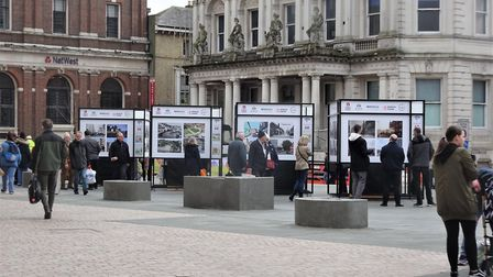 Will you be going to see the Ipswich Society exhibition on the Cornhill at the weekend? Picture: IPS