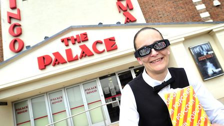 In 2013, Ashleigh Horsley helped The Palace Cinema, Felixstowe, celebrate getting a makeover so it c