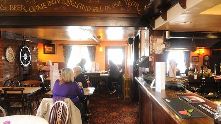 Inside the Ferry Boat Inn in 2016 Picture: LUCY TAYLOR