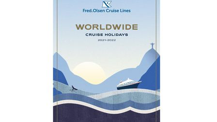 The new Fred. Olsen cruise brochure. Picture: FRED. OLSEN