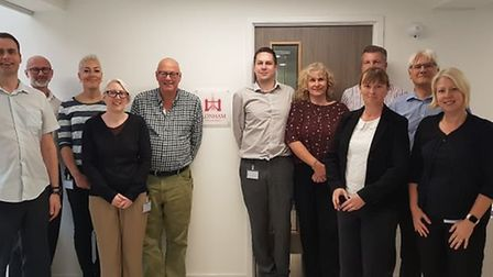 Staff at insurers Lonham, which is moving into The Maltings Picture: LONHAM