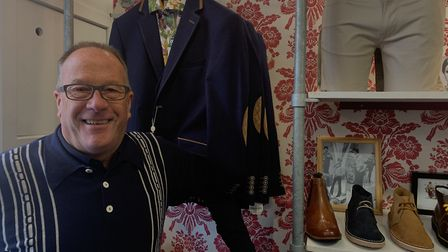 Alan Rayner, owner of Twist 'N' Shout menswear store. Picture: ARCHANT