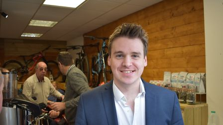 Ipswich Conservative MP Tom Hunt said the company has his full support Picture: OLIVER SULLIVAN