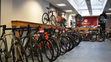 Spokeworx has been open in Princes Street for more than two years Picture: OLIVER SULLIVAN