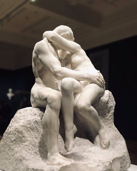 The Kiss by Rodin at Christchurch Mansion, Ipswich Picture: ALL ABOUT IPSWICH