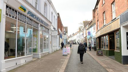 The refurbished Ipswich Building Society branch in Woodbridge. Picture: WARREN PAGE