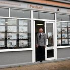 Jonathan Waters at Foxhall Estate Agents in Ipswich Picture: CHARLOTTE BOND