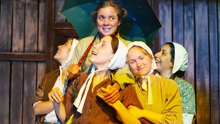 The Ballad of Maria Marten, by Beth Flintoff, Eastern Angles' production, is at the New Wolsey Theat