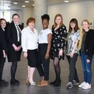 The University of Suffolk has seen an increase in applications from target schools across the county