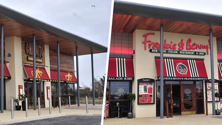 Frankie & Benny's and Chiquito sites in Nacton Road have gone up for sale. Picture: LUCY TAYLOR/ARCH