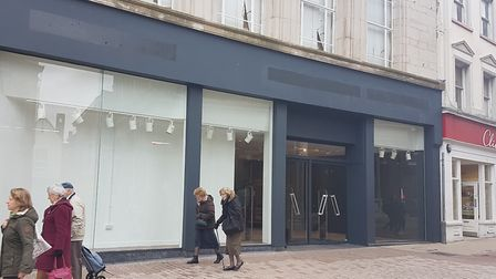 The former Burton/Dorothy Perkins store closed in early February. Picture: PAUL GEATER