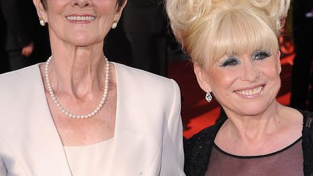 June Brown and co-star Barbara Windsor pictured at the British Academy Television Awards 2009 Pictur