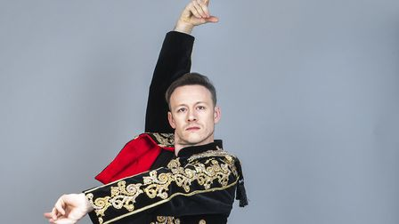 Kevin Clifton who will be starring in Strictly Ballroom: The Musical at the Ipswich Regent in June 2