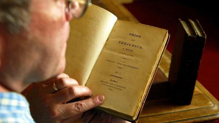 What is the name of the main character in Jane Austen's Pride and Prejudice? Picture: MAURICE MCDON