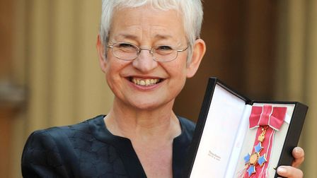 Dame Jacqueline Wilson is honoured at Buckingham Palace in 2008. With which fictional girl-in-care w