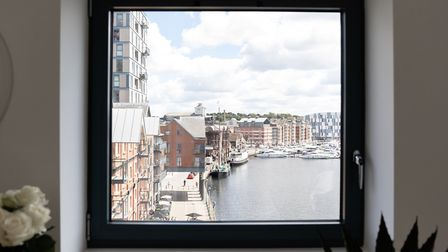 The Winerack penthouse suites offer striking views of the Ipswich waterfront. Picture: WHAT ASSOCIAT