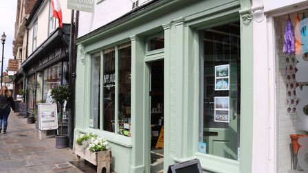 Applaud Cafe in St Peter's Street Picture: CHARLOTTE BOND