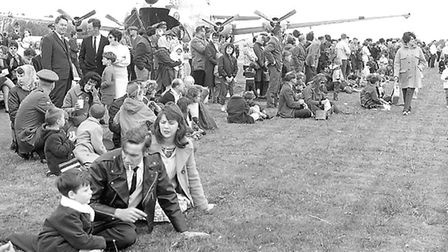 Mildenhall Air Show on May 24, 1966. It's much missed Picture: ARCHANT