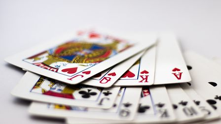 There are plenty of games that can be played with playing cards Picture: GETTY IMAGES