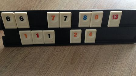 Rummikub: At last, I can put something down - three 1s Picture: ARCHANT